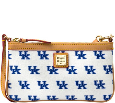 Dooney & Bourke NCAA University of Kentucky Slim Wristlet