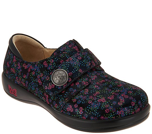 Alegria Leather Slip-on Shoes - Joleen