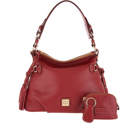 """As Is"" Dooney & Bourke Smooth Leather Shoulder Bag- Teagan"