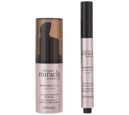 philosophy ultimate miracle worker fix eye & lip kit