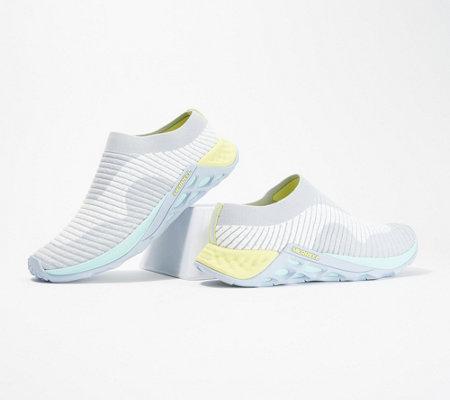 laatu los angeles puoleen hintaan Merrell Knit Slip-On Slides- Range Slide AC+ — QVC.com