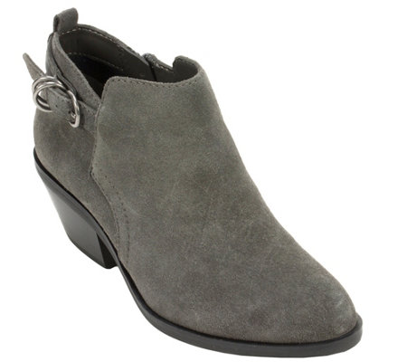 White Mountain Heritage Collection Leather Ankle Boots - Sadi