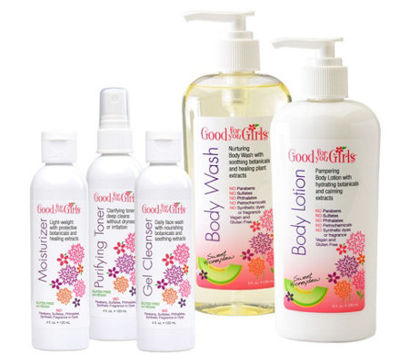 Good For You Girls Face & Body Care Gift Set