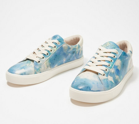 Sam Edelman Leather Watercolor Sneakers - Ethyl