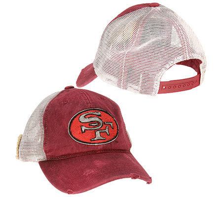 NFL San Francisco 49ers Retro Trucker Hat — QVC.com cdc0872c5ab