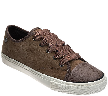 Isaac Mizrahi Live! SOHO Leather Sneakers