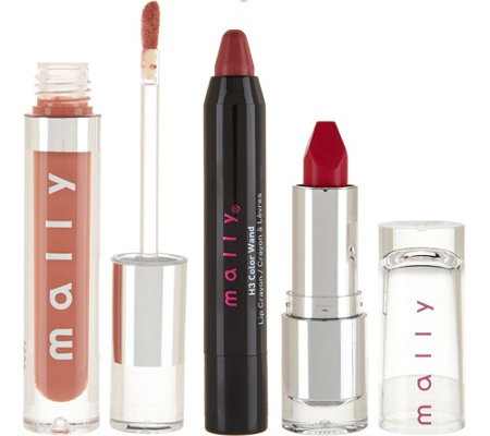 Mally Lip Love 3-piece Lip Collection