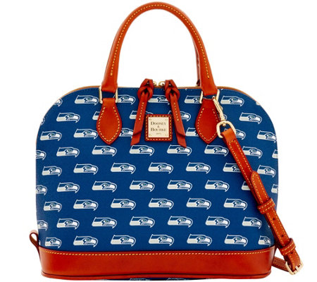 Dooney & Bourke NFL Seahawks Zip Zip Satchel