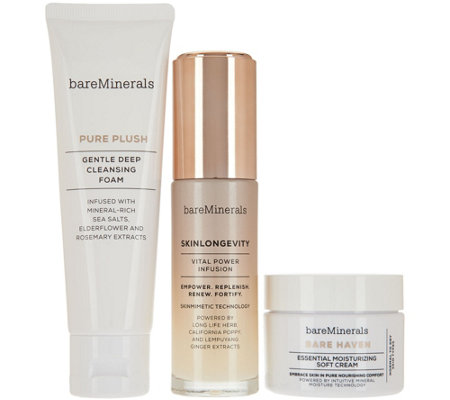 bareMinerals Skinsorials 3pc Starter Kit Normal to Dry Skin
