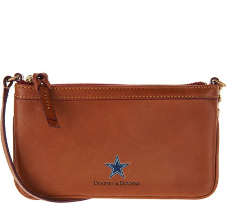 Dooney & Bourke Florentine Leather NFL Large Slim Wallet