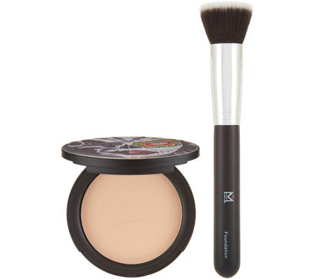 Voodoo Makeup Coconut Cream Foundation with Brush
