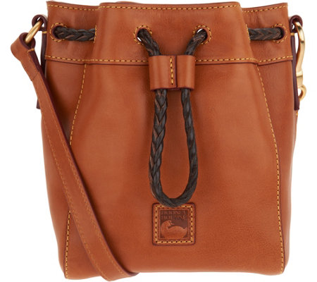 """As Is"" Dooney & Bourke Florentine Mini Hattie Crossbody"