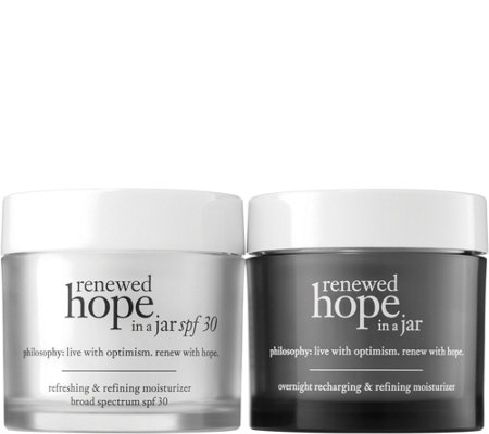 philosophy renewed hope in a jar sun & night duo Auto-Delivery