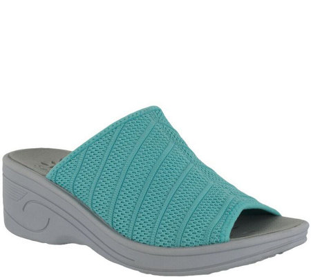 Solite by Easy Street Slide Sandals - Airy