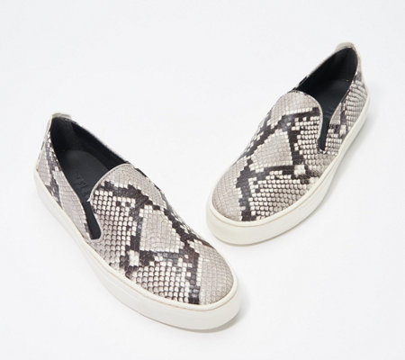 The Flexx Slip-On Leather Sneakers - Sneak Name