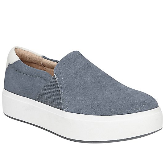 Dr. Scholl's Sporty Suede Slip-On Sneakers - Abbot Lux