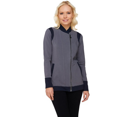 Linea Leisure by Louis Dell'Olio Knit Jacket