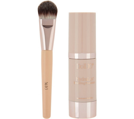 Doll 10 HydraLux Smoothing Foundation w/ Brush