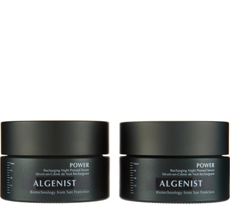 Algenist POWER Night Pressed Serum Duo Auto-Delivery