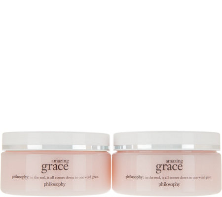philosophy grace & love silky smooth hydrating body gel cream duo