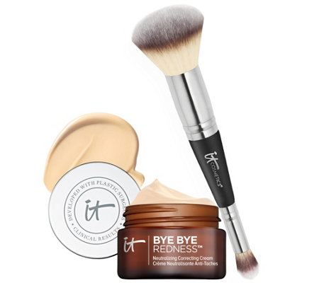 IT Cosmetics Bye Bye Redness with Brush Auto-Delivery
