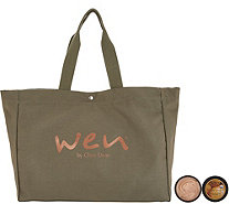 WEN by Chaz Dean 4-oz Re-Moist Mask Duo with WEN Tote - A351066