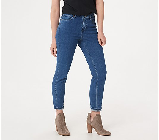 BROOKE SHIELDS Timeless Regular Ankle Jeans- Indigo