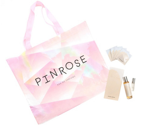 Pinrose Secret Genius Complete Fragrance Setwith Tote Bag