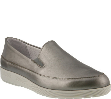 Spring Step Leather Loafers - Lois