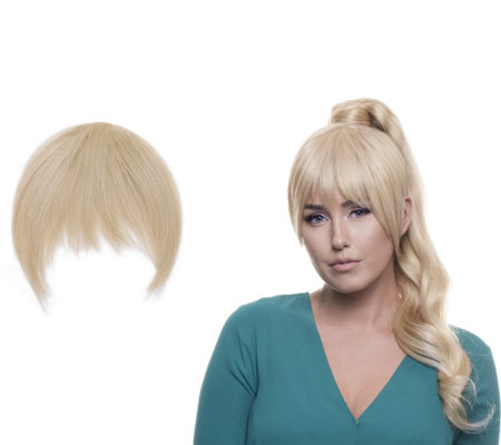 Bellami Blunt Style Clip-In Seamless Bangs
