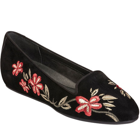 Aerosoles Smoking Slippers - Cosmetology