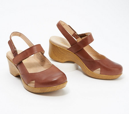 Alegria Leather Mary Janes - Tarah