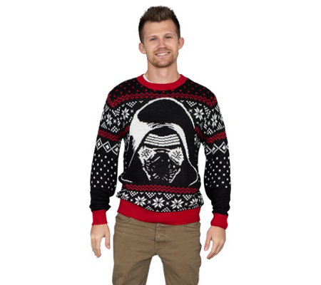 Junk Food Star Wars The Force Awakens Kylo Renugly Sweater