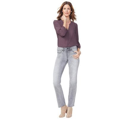 Nydj Missy Marilyn Straight Jeans Tahoma