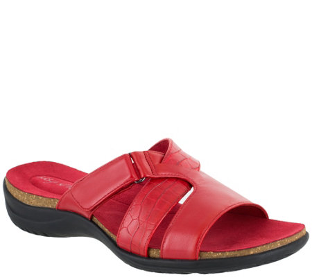 Easy Street Comfort Slide Sandals - Frenzy