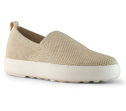 Cougar Stretch Knit Slip-On Shoes - Hint