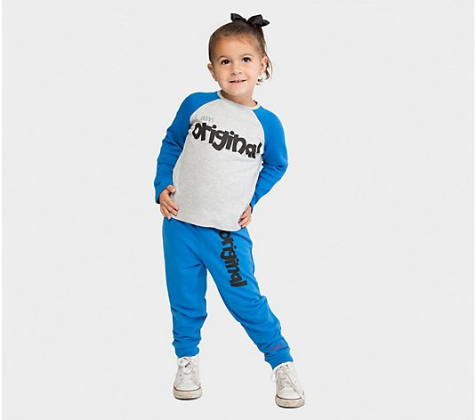 Peace Love World I Am Original 2-Piece ToddlerSet