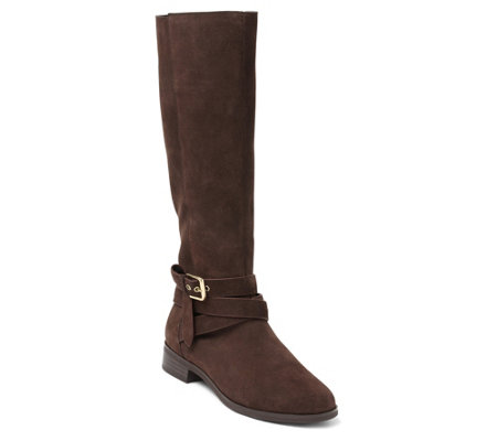 Kensie Suede Knee-High Boots - Capello
