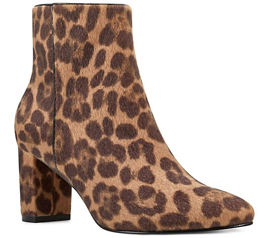 Nine West Rounded-Toe Booties - Trin