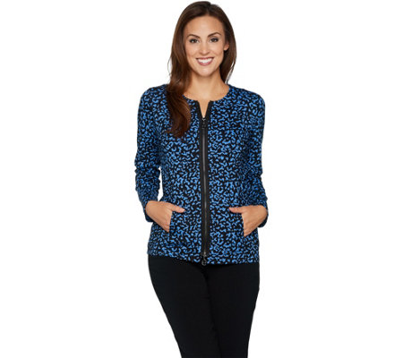 Linea Leisure by Louis Dell'Olio Composition Print Jacket