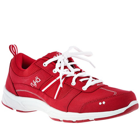 Ryka Canvas Stain & Water Resistant Sneakers - Tempo