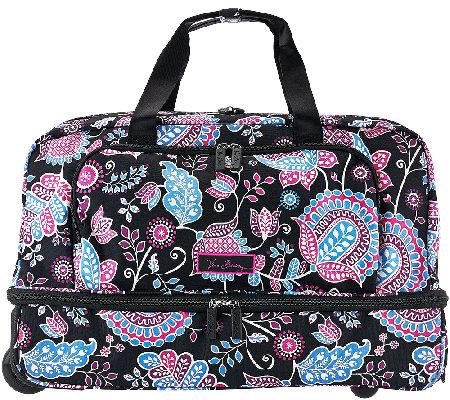Vera Bradley Lighten Up Wheeled Carry On Luggage - Page 1 — QVC.com 3236f1eec9bd6