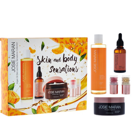 Josie Maran Argan Oil Luxury Body Cleansing Treatment Kit