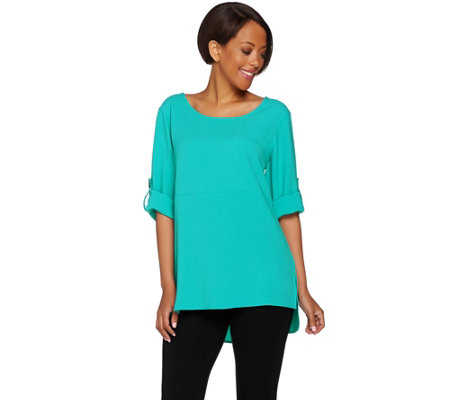 Linea by Louis Dell'Olio Gauze Crepe Tunic