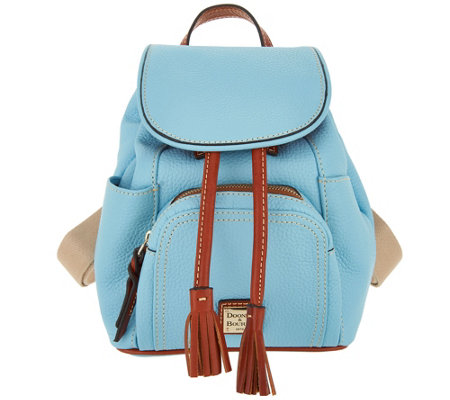 Dooney & Bourke Pebble Leather Small Murphy Backpack