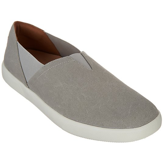 Vionic Canvas Slip-On Shoes - Ivy