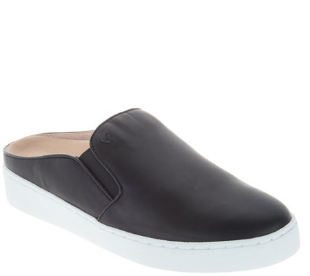 Vionic Leather Slip-on Mules - Dakota