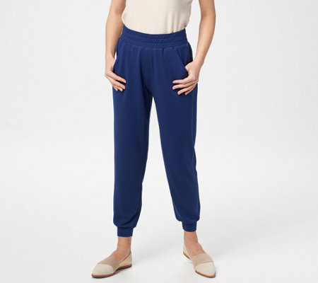 Quacker Factory Anytime Pull-On Jogger Pants