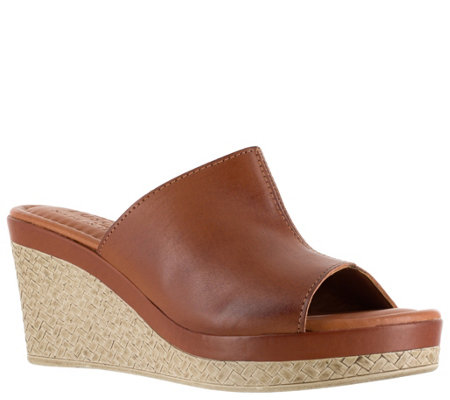 Tuscany by Easy Street Wedge Sandals - Octavia