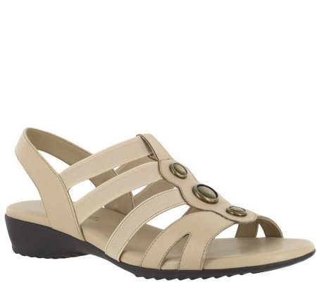 Easy Street Wedge Sandals - Nylee